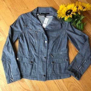 WHBM Denim Field Jacket
